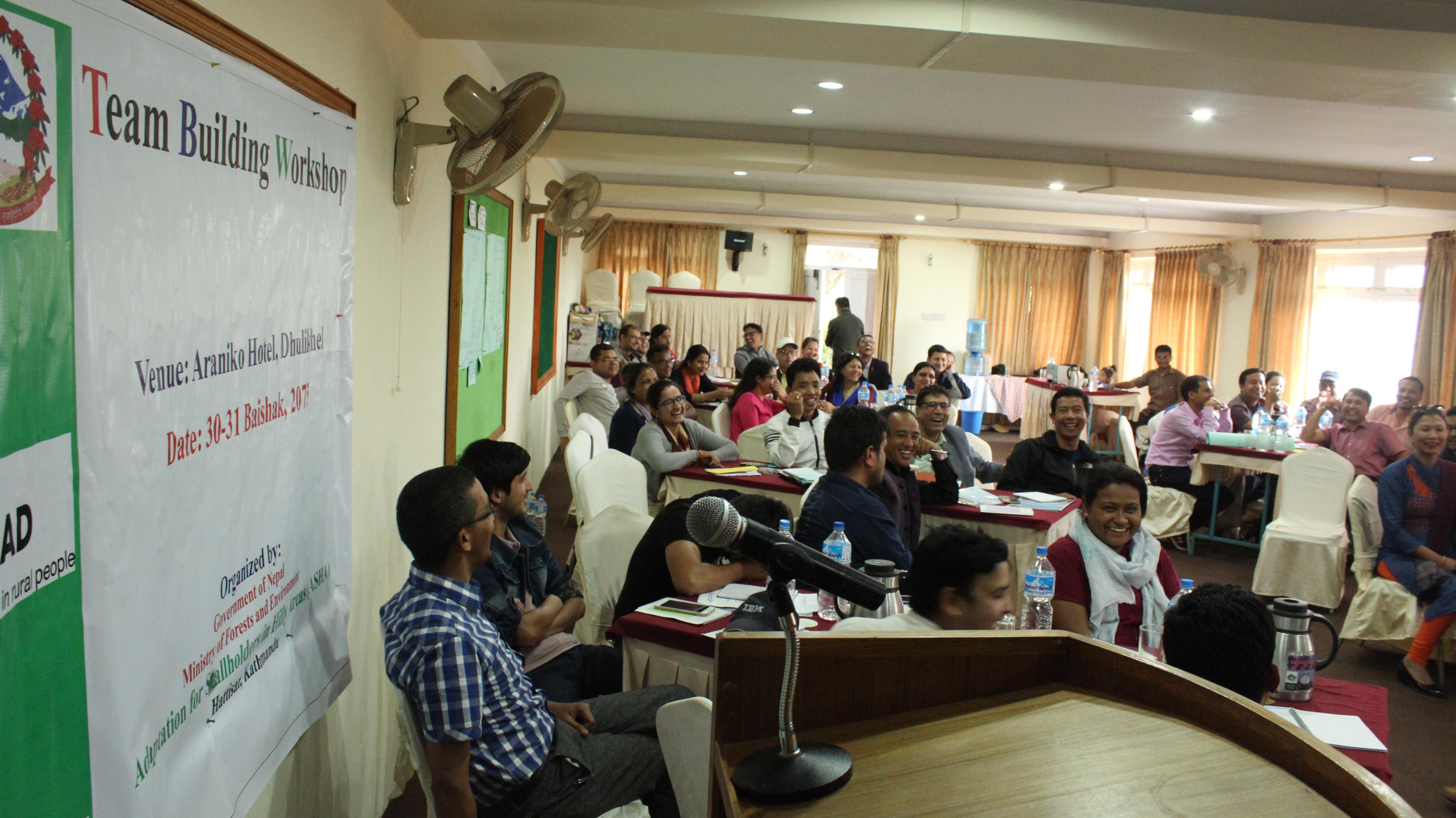 2018 Team Building Workshop