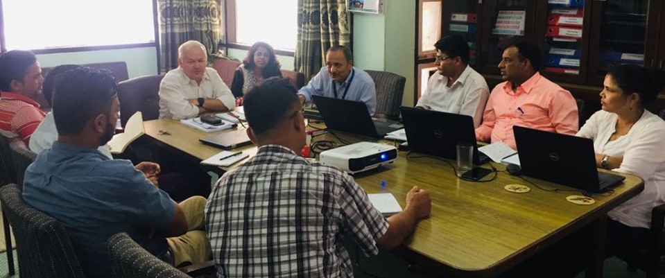 Coordination Meeting with Country Programme Officer, IFAD Nepal
